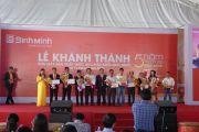 Khánh thành Công ty TNHH MTV sản xuất thức ăn chăn nuôi Bình Minh